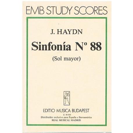 Haydn, Josep Sinfonía Nº88 Sol Mayor (Partitura de Bolsillo)