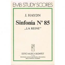 """Haydn, Joseph. Sinfonía Nº85 """"La Reine"""" (Partitura de Bolsillo)"""