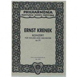 Krenek, Ernst. Concierto...