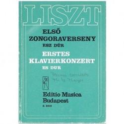 Liszt. Primer Concierto en MIb Mayor (Partitura de Bolsillo)