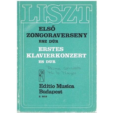 Liszt. Primer Concierto en MIb Mayor (Full Score Bolsillo). Editio Musica Budapest