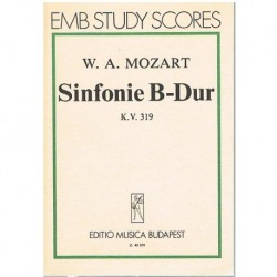 Mozart. Sinfonía en SIb...