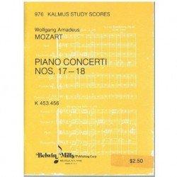 Mozart. Conciertos Nº17 y...