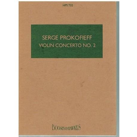 Prokofiev, S Concierto de Violin Nº2 (Partitura de Bolsillo)