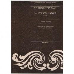 Vivaldi La Stravaganza Op.4 Vol.2 (Partitura de Bolsillo)