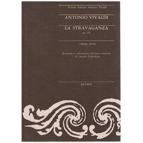 Vivaldi, Antonio. La Stravaganza Op.4 Vol.1 (Partitura de Bolsillo)