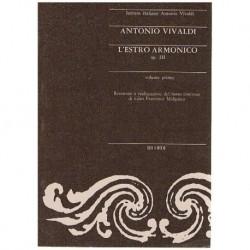 Vivaldi, Antonio. L'Estro Armonico Op.3 Vol.1 (Partitura de Bolsillo)