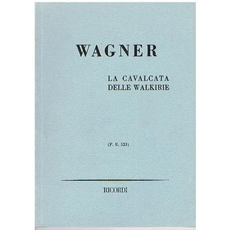 Wagner La Cabalgata de las Walkirias P.R.523 (Partitura de Bolsillo)