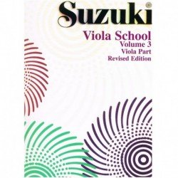 Suzuki Viola School Vol.3