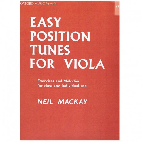 Mackay, Neil. Easy Position Tunes For Viola
