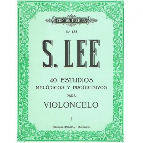 Lee, Sebastian. 40 Estudios Melódicos y Progresivos Vol.1