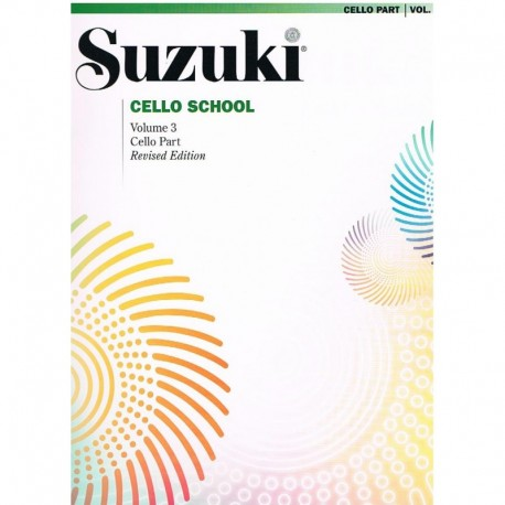 Suzuki Cello School Vol.3