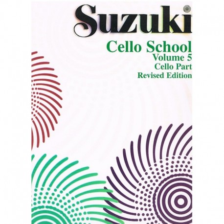 Suzuki Cello School Vol.5