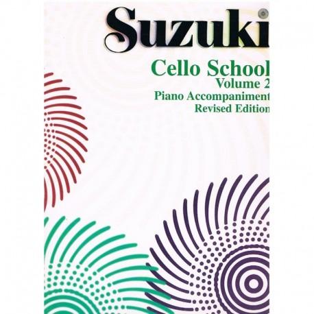 Suzuki Cello School Vol.2 (Acompañamiento de Piano)