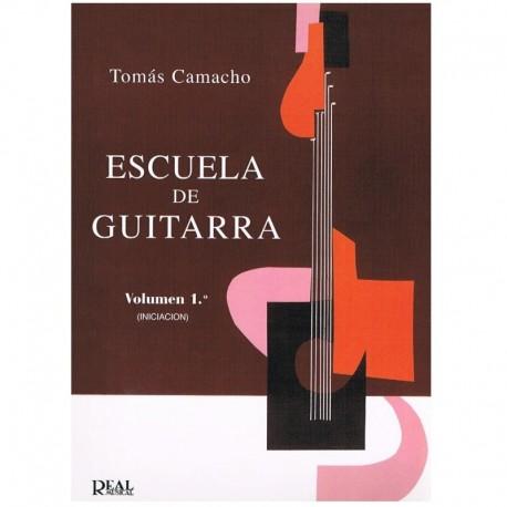 Camacho, Tomás. Escuela de la Guitarra Vol.1. Iniciación. Real Musical