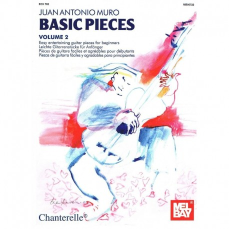 Muro, J.A.. Basic Pieces Vol.2 (Guitarra). Chanterelle