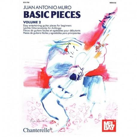 Muro, J.A.. Basic Pieces Vol.2 (Guitarra). Chanterelle