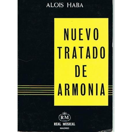 Haba, Alois. Nuevo Tratado de Armonía. Real Musical