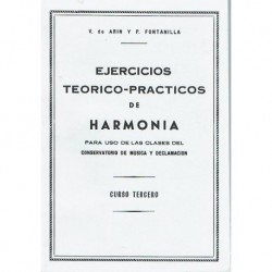 Arin/Fontanilla. Ejercicios Teorico-Prácticos de Armonía. Curso 3º