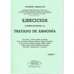 Zamacois. Ejercicios Correspondientes al Tratado de Armonía Vol.1
