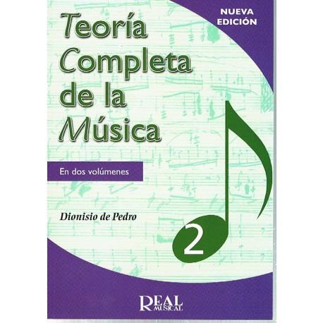 De Pedro, Dionisio. Teoría Completa de la Música 2. Edición Revisada. Real Musical