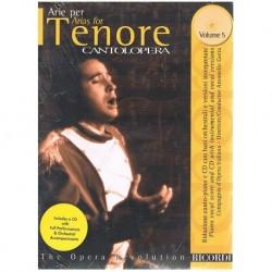 Cantolopera Vol.5. Arias Para Tenor +CD