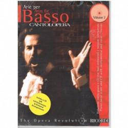 Cantolopera Vol.2. Arias Para Bajo +CD