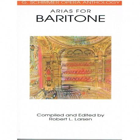 Varios. Arias For Baritone (Voz Baritono/Piano)