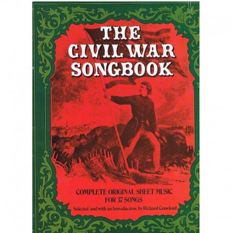 Varios. The Civil War Songbook (Voz/Piano). Dover
