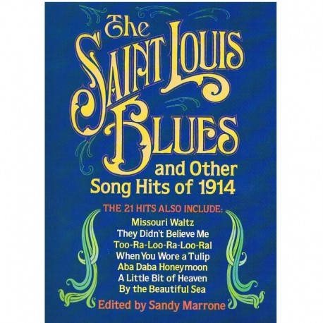 Varios. The Saint Louis Blues and Other Hits of 1914. (Voz/Piano). Dover