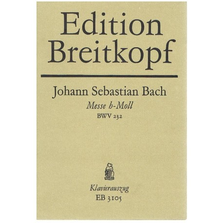 Bach, J.S Misa en Si menor BWV232 (Solistas/Coro/Piano)