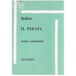 Bellini, Vincenzo. IL Pirata (Voz/Piano)