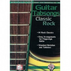 Varios. Guitar Tabsongs. Classic Rock