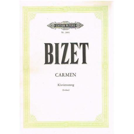 Bizet, Georges. Carmen (Alemán). Voz/Piano