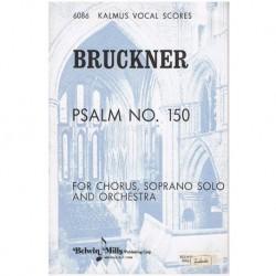 Bruckner, Anton. Salmo Nº150 (Coro/Soprano/Piano)