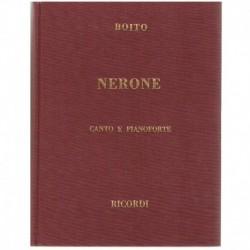 Boito, Arrigo. Nerone. Edición Lujo (Voz/Piano)