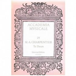 Charpentier, Marc-Antoine. Te Deum (Voz/Piano)