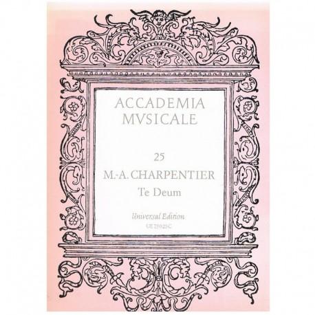Charpentier, Marc-Antoine. Te Deum (Voz/Piano). Universal Edition