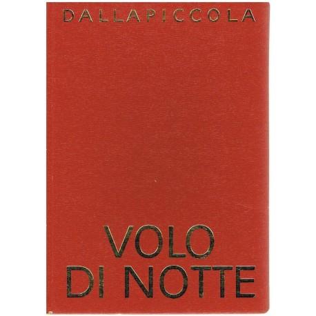 Dallapiccola, Luigi. Volo di Notte (Voz/Piano). Universal Edition