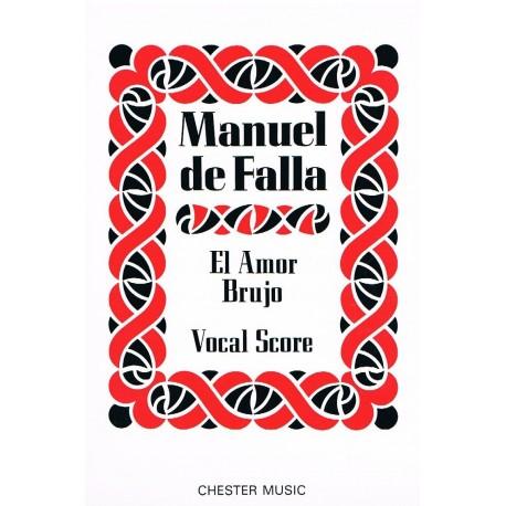 Falla, Manue El Amor Brujo. Voz/Piano