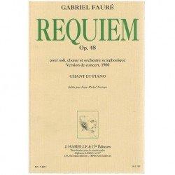 Fauré, Gabriel. Requiem...