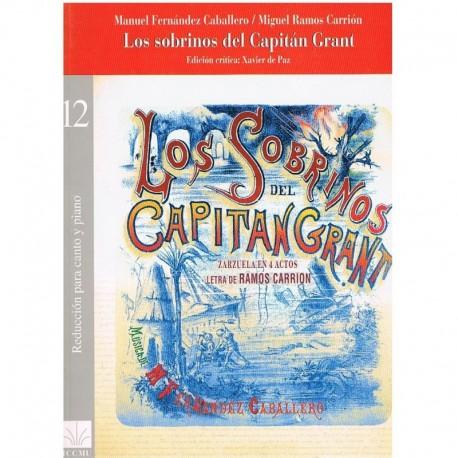 Fernandez Caballero/Ramos Carrión. Los Sobrinos del Capitán Grant (Voz/Piano)