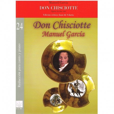 García, Manuel. Don Quijote (Voz/Piano)