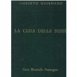 Giordano, Umberto. La Cena delle Beffe (Voz/Piano)