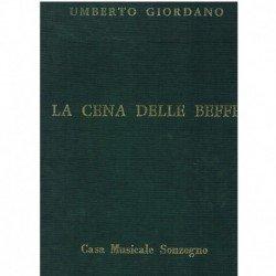 Giordano, Umberto. La Cena...