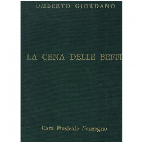 Giordano, Um La Cena Delle Beffe. Voz/Piano