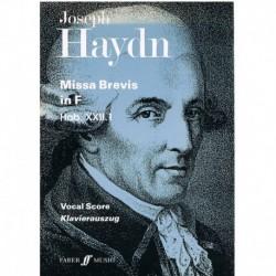 Haydn, Joseph. Missa Brevis...