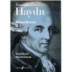 Haydn, Joseph. Misa Breve...