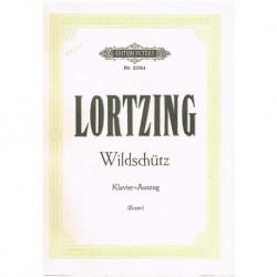 Lortzing. Wildschutz (Voz/Piano)