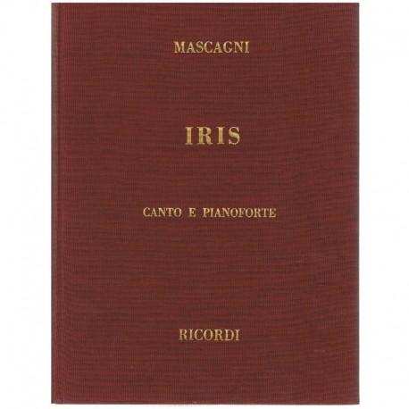 Mascagni, Pi Iris. Voz/Piano